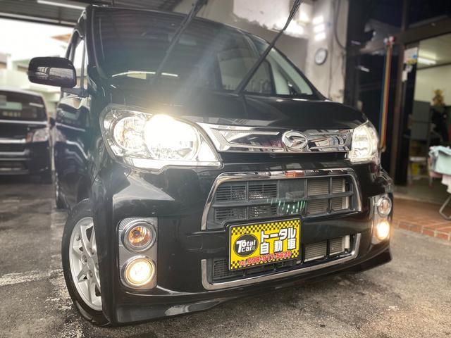 沖縄の中古車 ダイハツ タントエグゼ 車両価格 43万円 リ済込 2013(平成25)年 10.5万km ブラックM