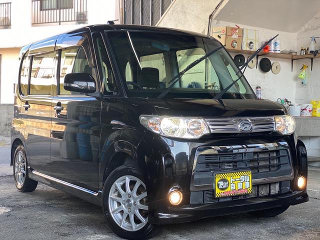 沖縄の中古車 ダイハツ タント 車両価格 43万円 リ済込 2012(平成24)年 12.6万km ブラックM