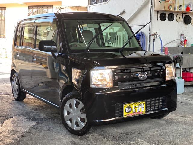 沖縄の中古車 ダイハツ ムーヴコンテ 車両価格 43万円 リ済込 2012(平成24)年 5.2万km ブラックM