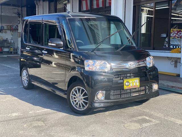 沖縄県の中古車ならタント G ナビ TV バックカメラ パワースライドドア コーナーセンサー 16インチアルミ 本土無事故