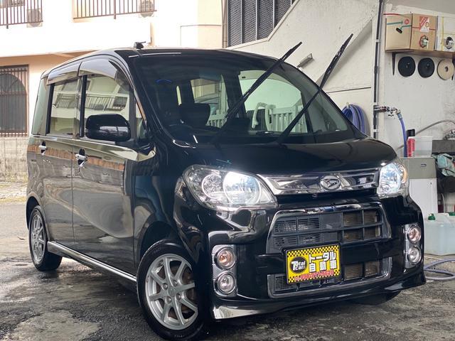 沖縄県の中古車ならタントエグゼ カスタムG カロッツェリア サイバーナビ スマートキー Bluetooth 本土無事故車両
