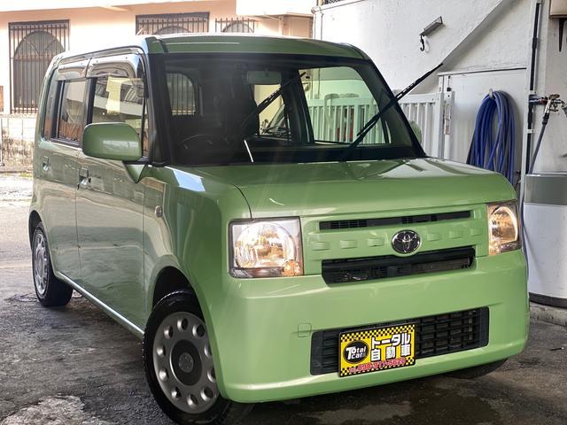 沖縄の中古車 トヨタ ピクシススペース 車両価格 35万円 リ済込 2016(平成28)年 13.4万km LグリーンM