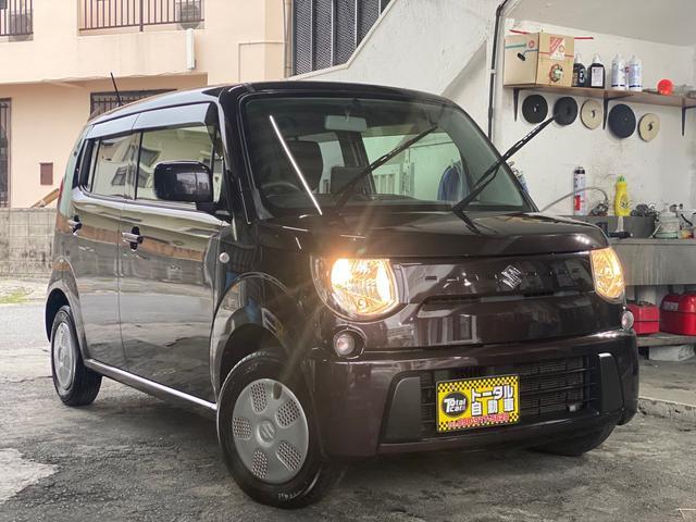 沖縄県の中古車ならMRワゴン G キーレスエントリー ポータブルナビ バックカメラ 本土無事故車両