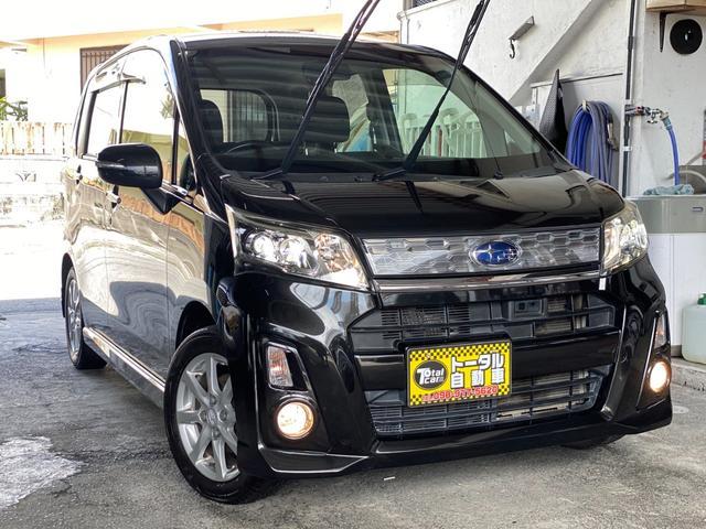 沖縄の中古車 スバル ステラ 車両価格 49万円 リ済込 2013(平成25)年 11.7万km ブラックM