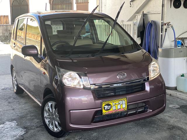 沖縄の中古車 ダイハツ ムーヴ 車両価格 24万円 リ済込 2013(平成25)年 15.2万km パープル