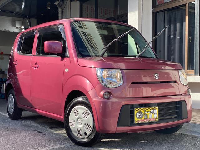 沖縄の中古車 スズキ MRワゴン 車両価格 36万円 リ済込 2012(平成24)年 5.9万km ピンクM