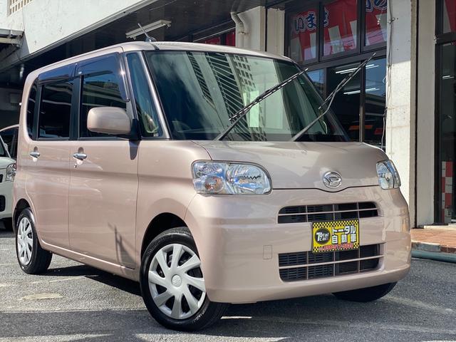沖縄県の中古車ならタント X スマートキー 電動スライドドア オートエアコン 純正フルセグTV ナビ ドラレコ 本土無事故車両
