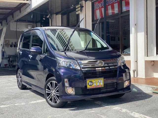 沖縄県宜野湾市の中古車ならムーヴ カスタム X VS LEDヘッドライト 純正アルミ プッシュスタート スマートキー 本土仕入れ車両
