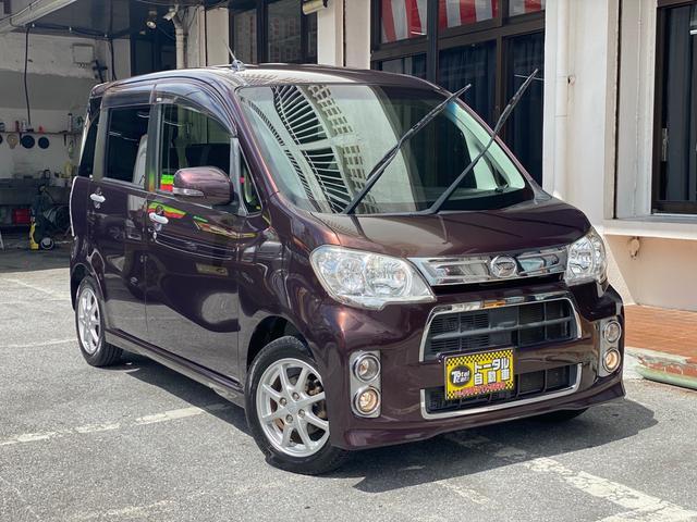 沖縄の中古車 ダイハツ タントエグゼ 車両価格 43万円 リ済込 2012(平成24)年 8.6万km ブラウンM