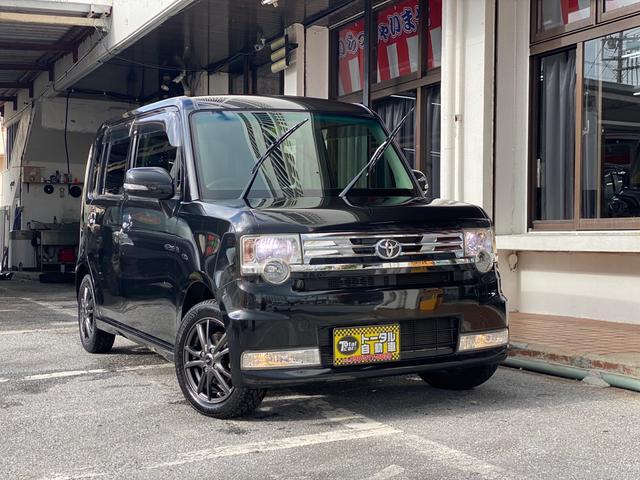 沖縄県の中古車ならピクシススペース カスタム X 後期モデル スマートキー オートエアコン アイドリングストップ機能 社外アルミ 本土無事故車両