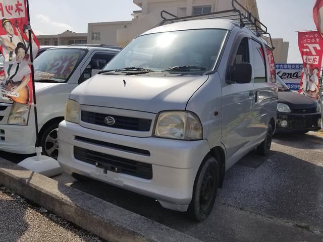 沖縄県の中古車ならハイゼットカーゴ DXターボ