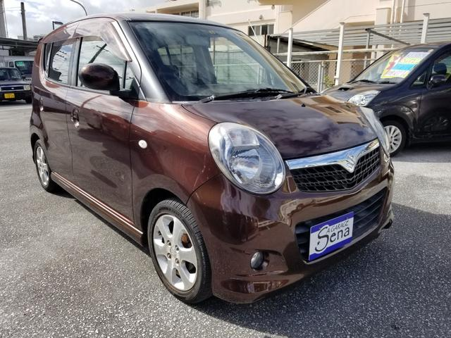 沖縄の中古車 スズキ MRワゴン 車両価格 13万円 リ済込 2006(平成18)年 14.9万km ブラウンM