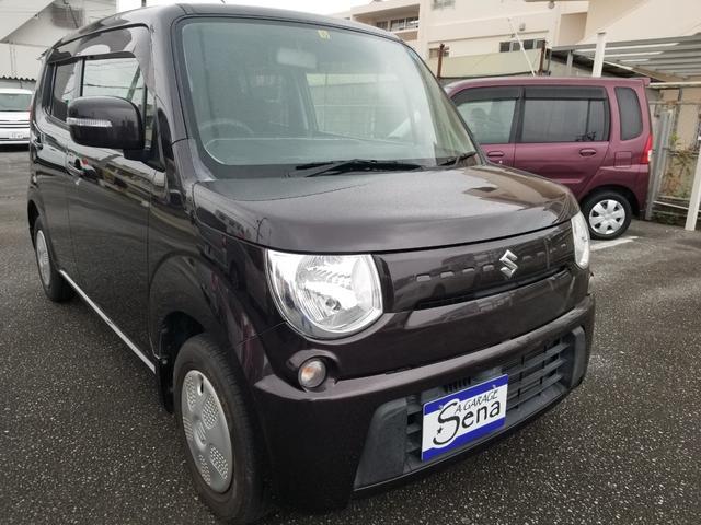 沖縄の中古車 スズキ MRワゴン 車両価格 29万円 リ済込 2011(平成23)年 12.4万km ブラウンM