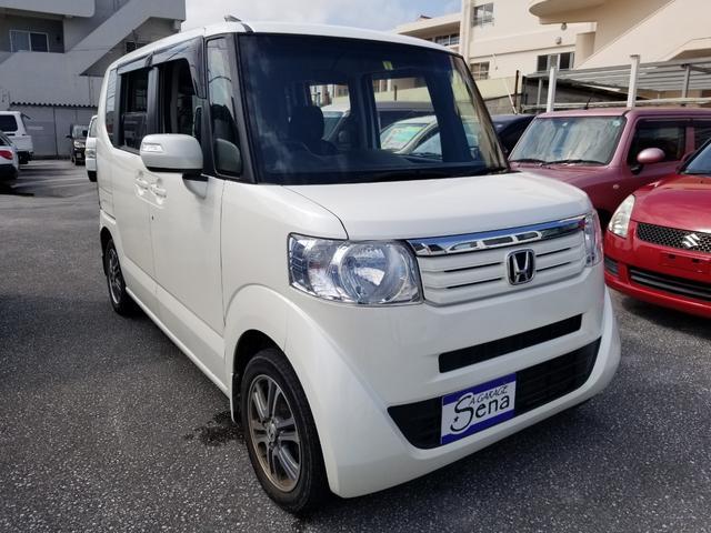 沖縄の中古車 ホンダ N-BOX 車両価格 72万円 リ済込 2014(平成26)年 4.6万km パールホワイト
