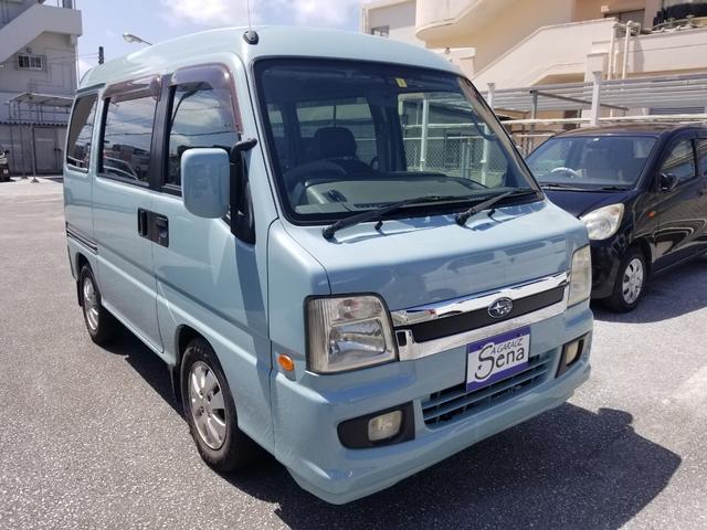 沖縄の中古車 スバル ディアスワゴン 車両価格 56万円 リ済込 2005(平成17)年 13.8万km LグリーンM