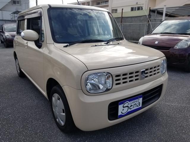 沖縄の中古車 スズキ アルトラパン 車両価格 19万円 リ済込 2010(平成22)年 12.5万km ライトイエローM