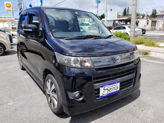 沖縄の中古車 スズキ ワゴンRスティングレー 車両価格 28万円 リ済込 2012(平成24)年 11.4万km ブラックM