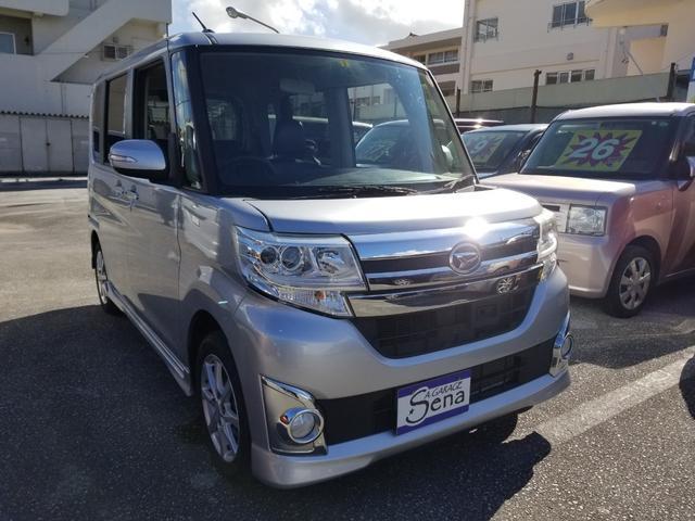 沖縄の中古車 ダイハツ タント 車両価格 61万円 リ済込 2013(平成25)年 10.0万km シルバーM