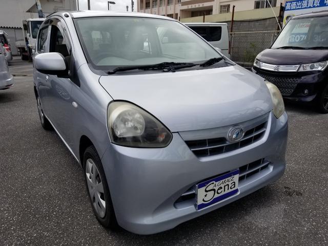 沖縄の中古車 ダイハツ ミライース 車両価格 19万円 リ済込 2013(平成25)年 17.6万km シルバーM