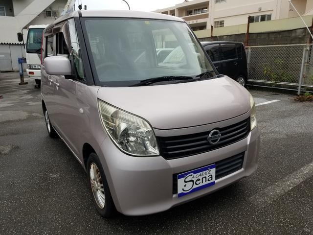 沖縄の中古車 日産 ルークス 車両価格 23万円 リ済込 2011(平成23)年 13.0万km ピンクM