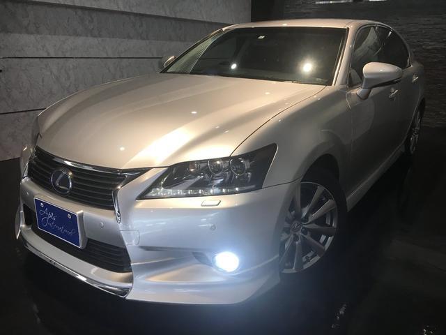 沖縄の中古車 レクサス GS 車両価格 198万円 リ済別 2012(平成24)年 8.6万km ソニックシルバー