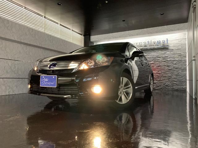 沖縄の中古車 レクサス HS 車両価格 168万円 リ済別 2011(平成23)年 2.3万km ブラック