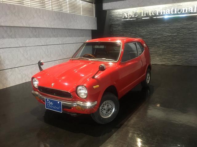 沖縄の中古車 ホンダ Z 車両価格 108万円 リ済別 1972(昭和47)年 2.0万km レッド
