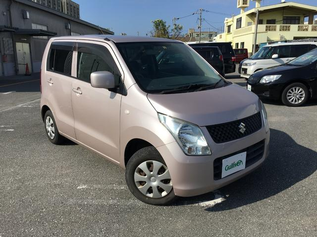 沖縄の中古車 スズキ ワゴンR 車両価格 54万円 リ済別 2010(平成22)年 3.4万km ピンク