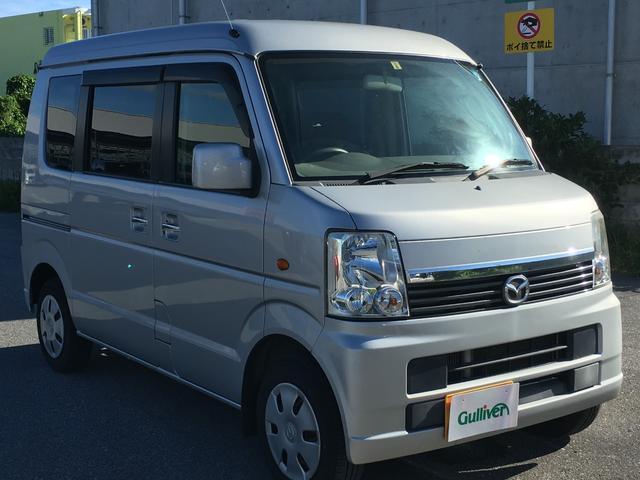 沖縄の中古車 マツダ スクラムワゴン 車両価格 58万円 リ済別 2011(平成23)年 10.3万km シルバー