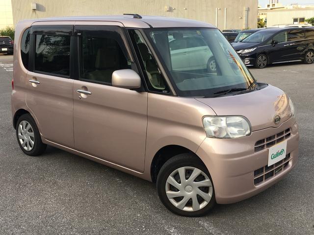 沖縄の中古車 ダイハツ タント 車両価格 64万円 リ済別 2012(平成24)年 6.7万km ピンク