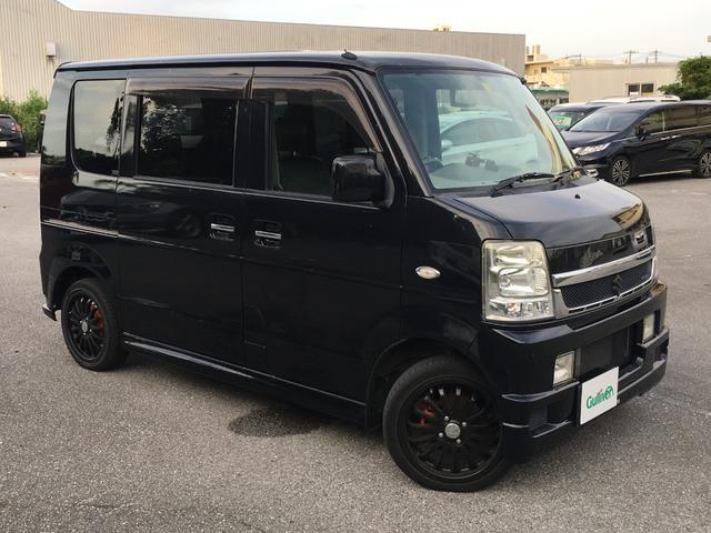 沖縄の中古車 スズキ エブリイワゴン 車両価格 99万円 リ済別 2011(平成23)年 5.4万km ブラック