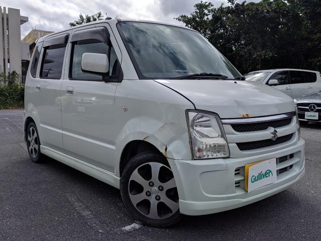 沖縄の中古車 スズキ ワゴンR 車両価格 39万円 リ済別 2008(平成20)年 6.1万km パールホワイト