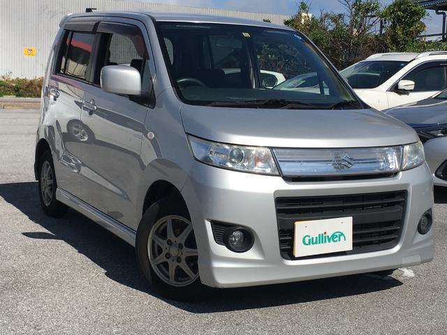 沖縄県の中古車ならワゴンRスティングレー X プッシュスタート スマートキー 電動格納ミラー