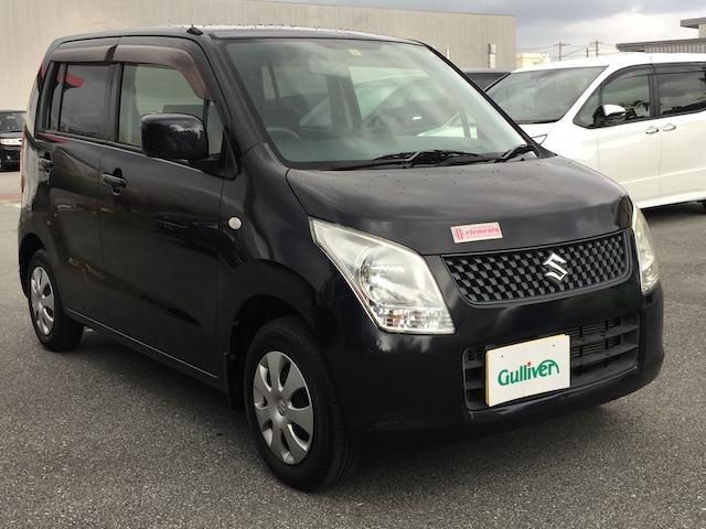 沖縄の中古車 スズキ ワゴンR 車両価格 45万円 リ済別 2012(平成24)年 7.3万km ブラック