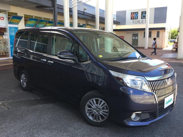 沖縄の中古車 トヨタ エスクァイア 車両価格 179万円 リ済別 2015(平成27)年 5.6万km パープル
