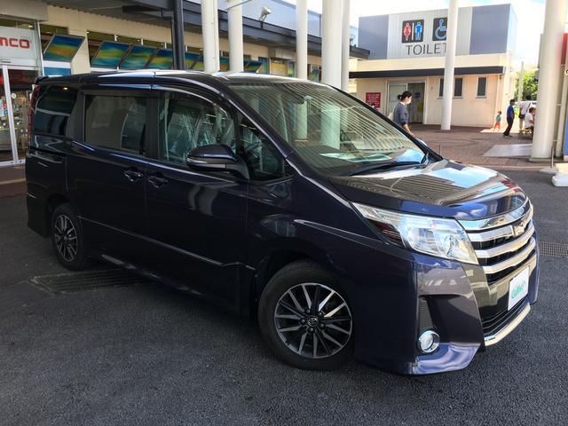 沖縄の中古車 トヨタ ノア 車両価格 158万円 リ済別 2015(平成27)年 6.2万km パープル