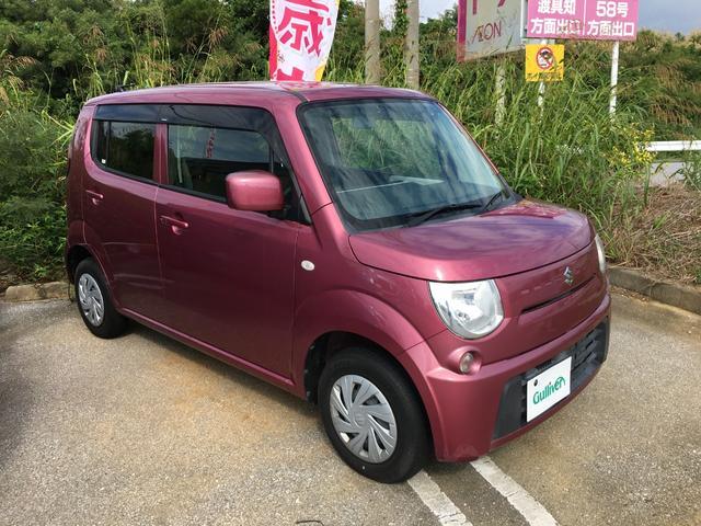 沖縄の中古車 スズキ MRワゴン 車両価格 59万円 リ済別 2013(平成25)年 2.5万km ピンク