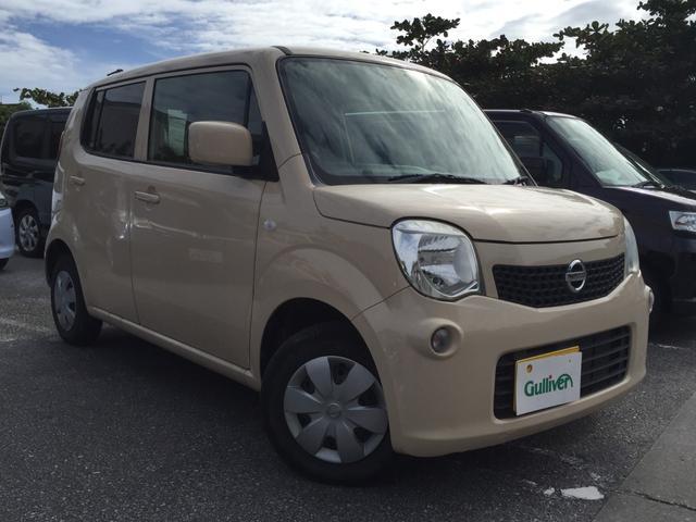 沖縄の中古車 日産 モコ 車両価格 49万円 リ済別 2012(平成24)年 7.1万km クリームM