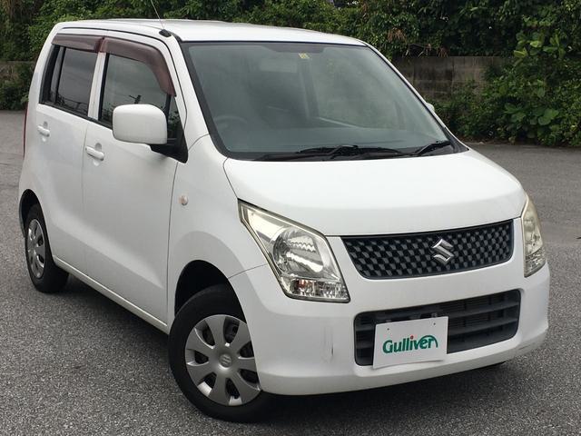 沖縄の中古車 スズキ ワゴンR 車両価格 48万円 リ済別 2011(平成23)年 5.4万km ホワイト