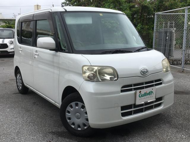 沖縄の中古車 ダイハツ タント 車両価格 45万円 リ済別 2009(平成21)年 9.7万km パールホワイト