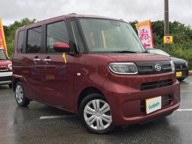 沖縄県の中古車ならタント X パノラマモニター付きオーディオ パノラマパーキングアシスト パワースライドドア スマートキー プッシュスタート LEDヘッドライト