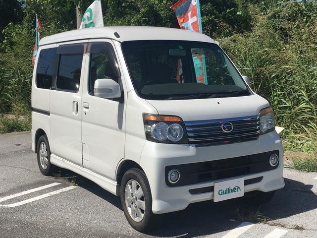 沖縄の中古車 ダイハツ アトレーワゴン 車両価格 39万円 リ済別 2010(平成22)年 16.1万km パールホワイトIII