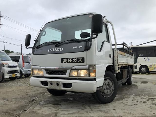 沖縄の中古車 いすゞ エルフトラック 車両価格 89万円 リ済込 2003(平成15)年 5.7万km ホワイト