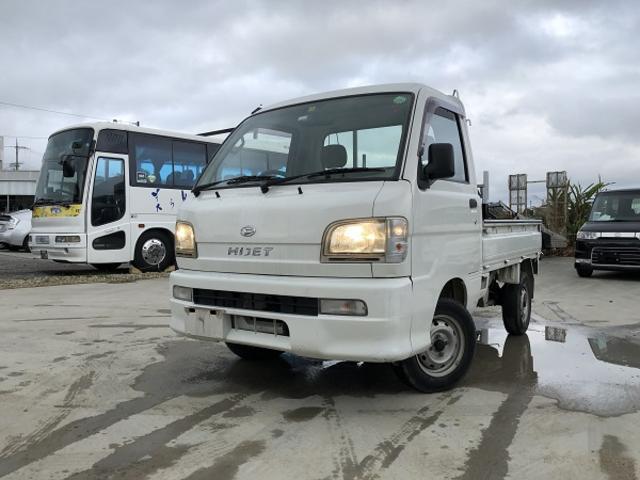 沖縄の中古車 ダイハツ ハイゼットトラック 車両価格 33万円 リ済込 2002(平成14)年 5.8万km ホワイト