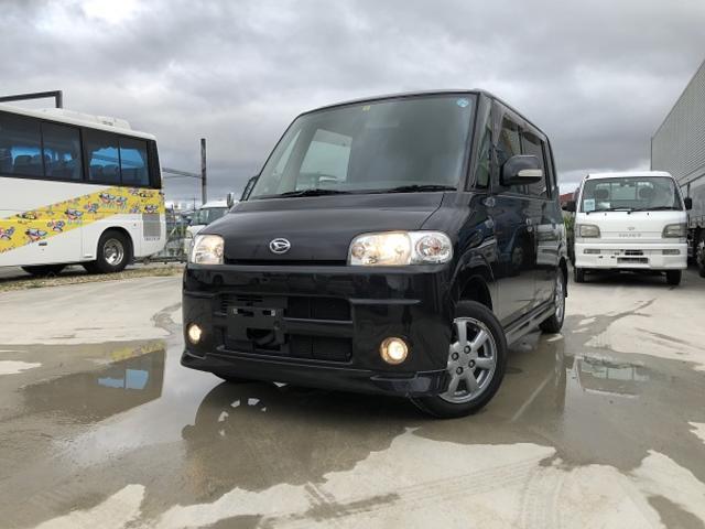 沖縄の中古車 ダイハツ タント 車両価格 32万円 リ済込 2007(平成19)年 9.5万km ブラックM