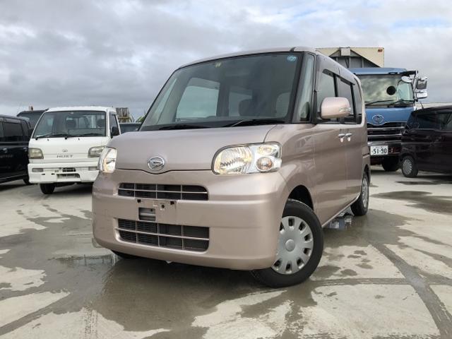 沖縄の中古車 ダイハツ タント 車両価格 47万円 リ済込 2010(平成22)年 6.6万km ピンク