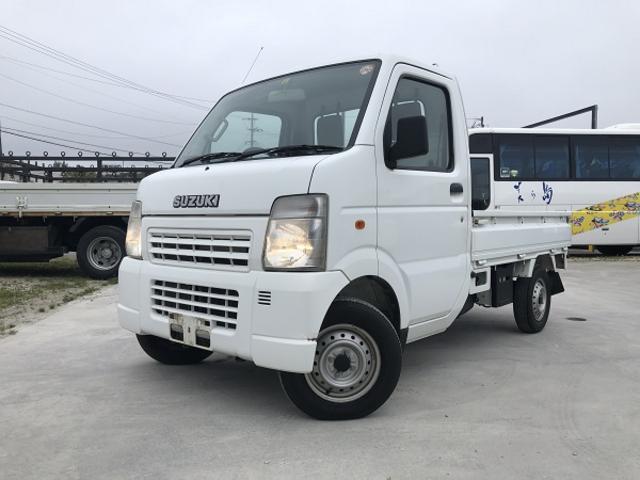 沖縄の中古車 スズキ キャリイトラック 車両価格 44万円 リ済込 2009(平成21)年 6.0万km ホワイト
