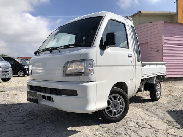 沖縄の中古車 ダイハツ ハイゼットトラック 車両価格 44万円 リ済込 2002(平成14)年 11.7万km ホワイト