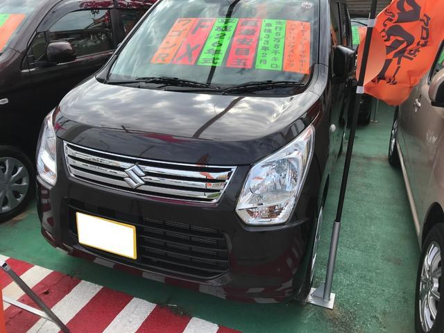 沖縄県の中古車ならワゴンR FX レーダーブレーキサポート アイドリングストップ