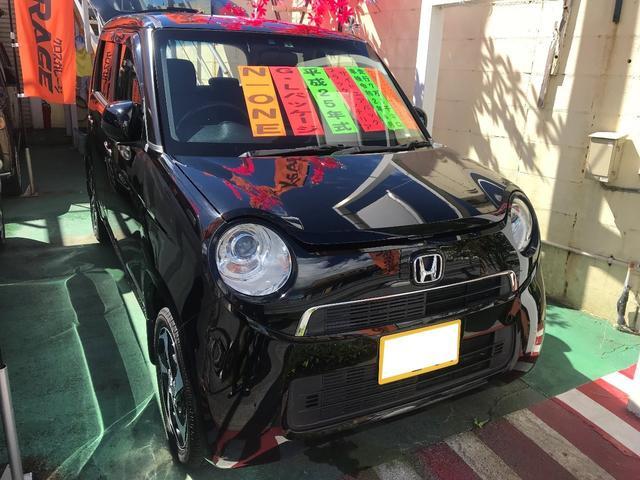 沖縄の中古車 ホンダ N-ONE 車両価格 69万円 リ済別 2013(平成25)年 7.1万km クリスタルブラックパールII